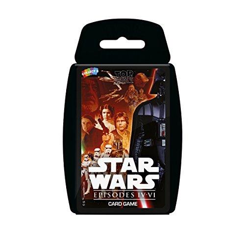 Star Wars Episodes 4-6 Top Trumps Card Game