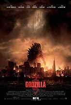 Godzilla (2014) 27 x 40 Movie Poster, Aaron Taylor-Johnson, Elizabeth Olsen, Ken Watanabe, Style A