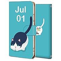 AQUOS sense3 ケース 手帳型 アクオス センス3 カバー スマホケース おしゃれ かわいい 耐衝撃 花柄 人気 純正 全機種対応 誕生日7月1日-猫 アニメ かわいい アニマル 8928480
