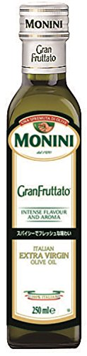 明治屋 モニーニ エキストラバージンオリーブオイル グランフルッタート 瓶229g