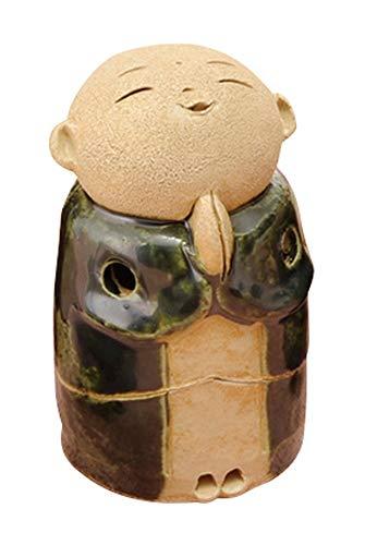 織部 お地蔵様 香炉 3.5寸 (小) [ H10cm ] 【 香炉 】 【 HANDMADE 置物 インテリア ギフト プレゼント 】