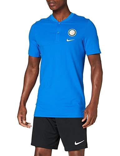 Nike Herren Inter M NSW Modern GSP AUT Poloshirt M Blauer Funke/Weiß