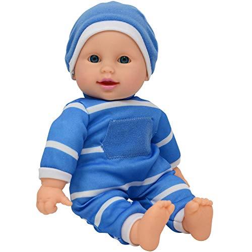"11 inch Soft Body Doll in Gift Box - 11"" Baby Doll (Boy)"
