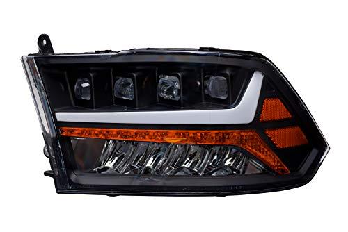 Alpha Owls 7180093 Quad-Pro LED Projection Headlights Fits Dodge Ram 2009-2018 1500 & 2010-2019 2500/3500