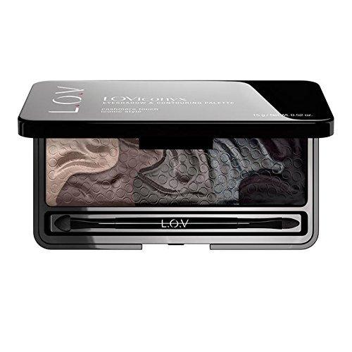 L.O.V Make-up Augen Loviconyx Eyeshadow & Contouring Palette Nr. 810 15 g