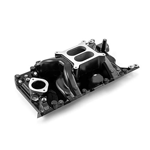Speedmaster 1-147-030 Fits Mopar Chrysler Dodge SB 318 340 360 MidRise Air Intake Manifold Black