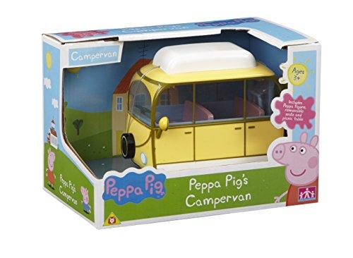 Peppa Pig - Autocaravana, medidas 11,5 x 10 x 7 cm, color amarillo