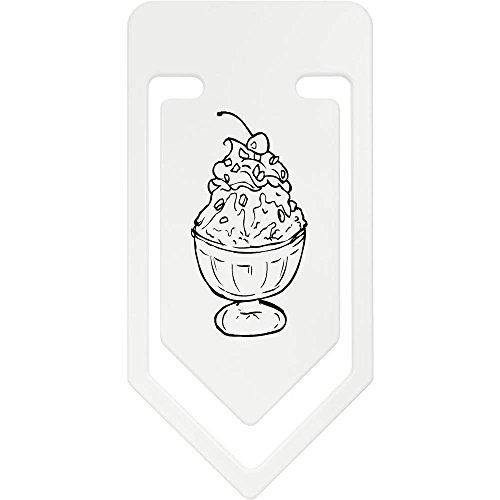 Azeeda 141mm 'Eisbecher' Riesige Plastik Büroklammer (CC00012090)