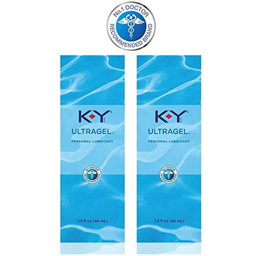 K-Y UltraGel Personal Lubricant, 1.5 oz.(pack of 2)