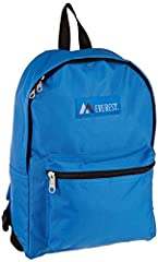 """Dimensions 11"""" x 5"""" x 15"""" (LxWxH) A mid-size backpack in a modern, streamlined silhouette ideal for school, work, travel and everyday use Spacious main compartment with double zipper closure Front zippered pocket for easy access Available in a multit..."""