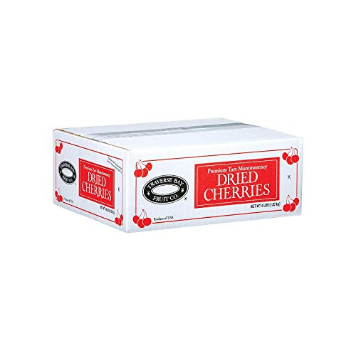 A Product of Traverse Bay Dried Cherries  4 lb box