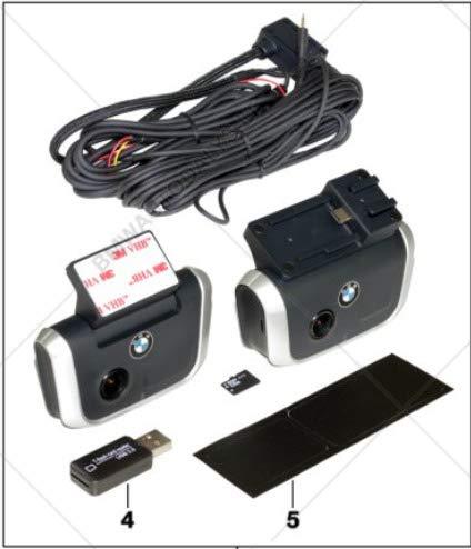 GTV INVESTMENT 1 F21 Advanced Car Eye 66212457699 NEU