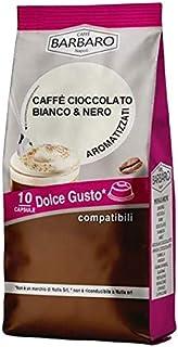 CAFÉ CHOCOLAT BLANC & NOIR BARBARO - 10 CAPSULES COMPATIBLES DOLCE GUSTO 7g