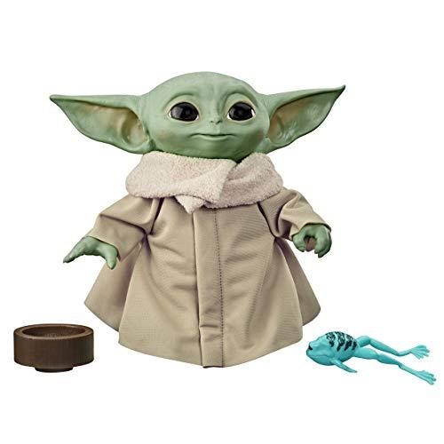 Figura Star Wars The Child (Baby Yoda) Brinquedo De Pelúcia que Fala de 19,05cm Inspirado na Série The Mandalorian - F1115 - Hasbro