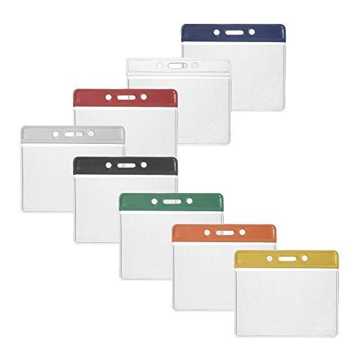 und Kreditkartenformate horizontal 86 x 54 mm Ausweishüllen aus Vinyl für EC