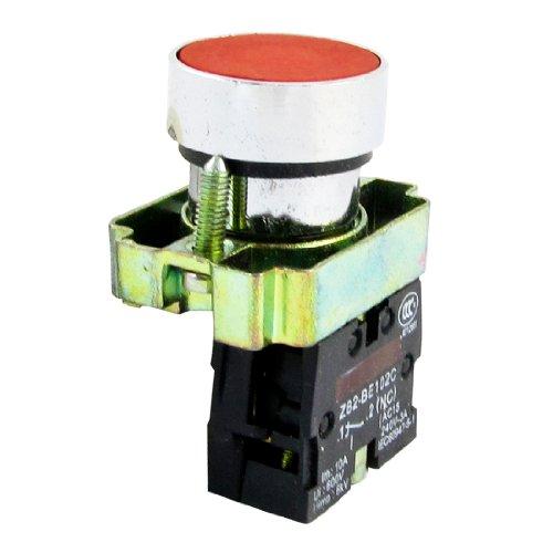 Sourcingmap - Panel Cap Plate rode DE MONTAGE 2-terminal Botton van de lade van het schakelaarprogramma ui600 V ith10 A SPST
