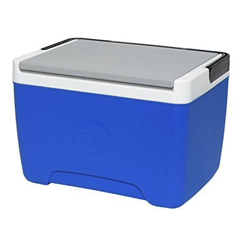 Igloo Island Breeze 9 Quart Cooler, Majestic Blue/Ash Gray/Black