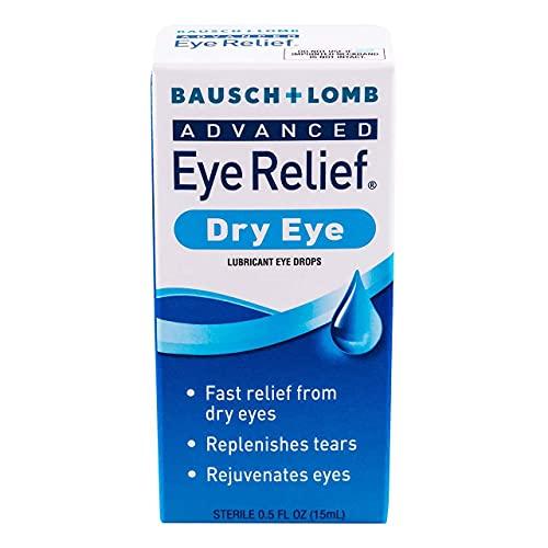 Bausch & Lomb Advanced Eye Relief Rejuvenation Lubricant Eye Drops, 0.5 Fl Oz (Pack of 2)