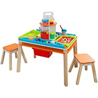 KidKraft Ultimate Creation Station for Arts & Crafts, Slime and DIY Projects