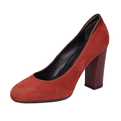 Hogan Pumps Damen Wildleder rot 35.5 EU
