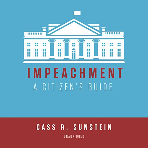 Page de couverture de Impeachment: A Citizen's Guide