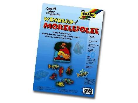 Window-Color-Folie 50X70 0,4Mm Windrad+Mobile A C H T U N G Ve 5 Bogen , Verpackungseinheit: 5 Bogen