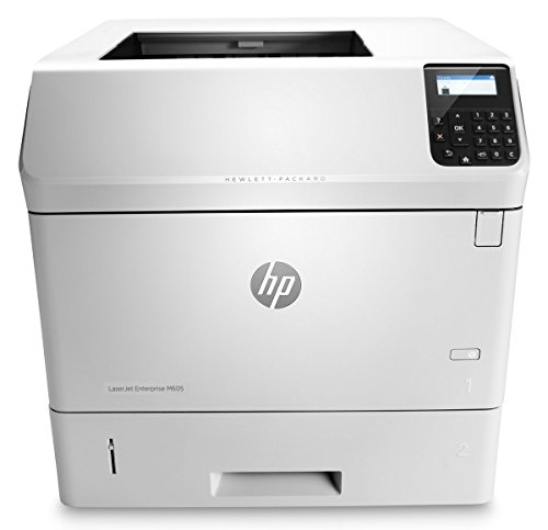 HP LaserJet Enterprise M605n - Impresora láser (1200 x 1200 DPI, 225000 páginas por mes, PCL 5e, PCL 6, PDF 1.7, PostScript 3, 55 ppm, 7s, 500 hojas) No