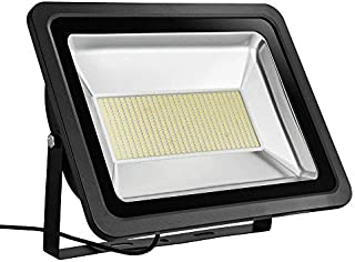 200W LED Outdoor Flood Lights Thinner and Lighter Design Waterproof IP65 Warm White (2800-3000K)) Super Bright Security Lights Led Spotlight Excellent Heat Dissipation (200W)