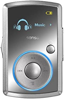 Sandisk 4GB Sansa Clip MP3 Player with Radio - Silver