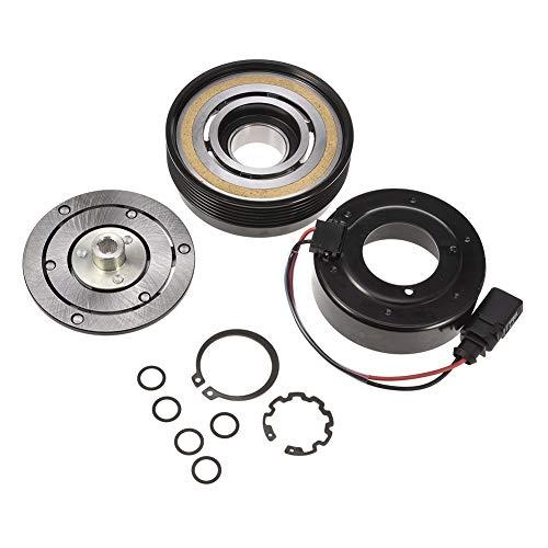 Facaimo 1J0820803B AC Compressor Clutch Assembly AC Clutch Fits for Audi TT Volkswagen Beetle Golf Jetta Polo 1J0820803L 1J0820803N 1J0820803F