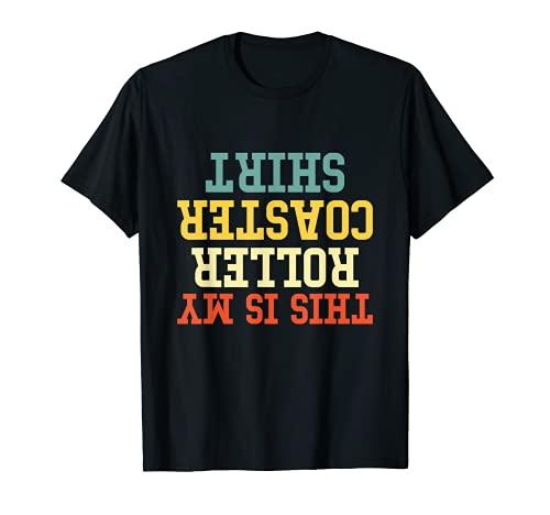 This Is My Roller Coaster Camisa Camiseta