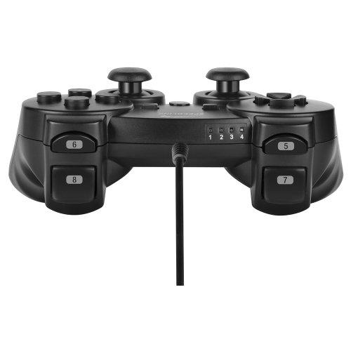 Speedlink Strike FX Gamepad kabelgebundener Controller für die Playstation 3/PS3 (Vibrationsfunktion)