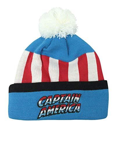 Captain America Retro Original Kids Bobble Hat