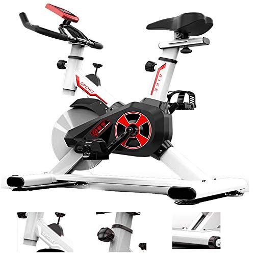 SXX Vertical Bicicleta estática, Pedal de Bicicleta de Spinning, Bicicletas Cardio, Resistencia Rotary, Asiento Ajustable y Manillar, para Bajar de Peso Quema de Grasas