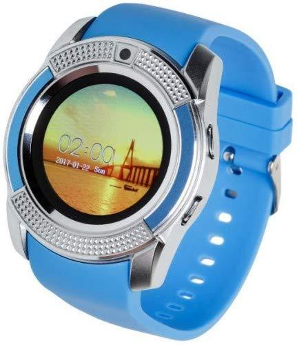 Garett G11 Smartwatch, Blau-Silber
