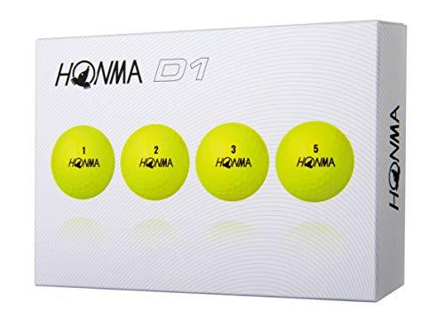 Honma Golf New D1 New D1 BT-1801 Yellow Golf Balls