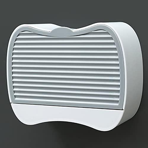 LYZL Estanteria Baño Ducha, Jabonera De Pared, Diseño De Concha, Colgante para Pared Accesorios Bano, Instalación Sin Perforaciones, para Baño Ducha(Un par),Gris,Size B