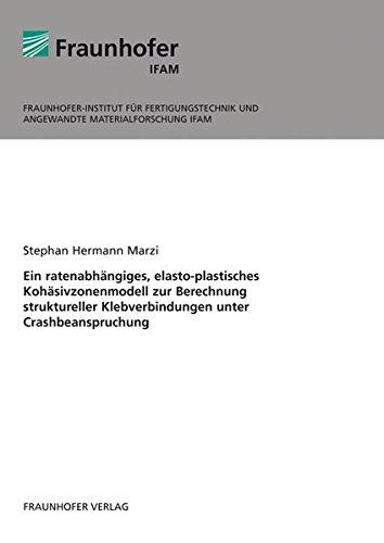 Ein ratenabhängiges, elasto-plastisches Kohäsivzonenmodell zur Berechnung struktureller Klebverbindungen unter Crashbeanspruchung.