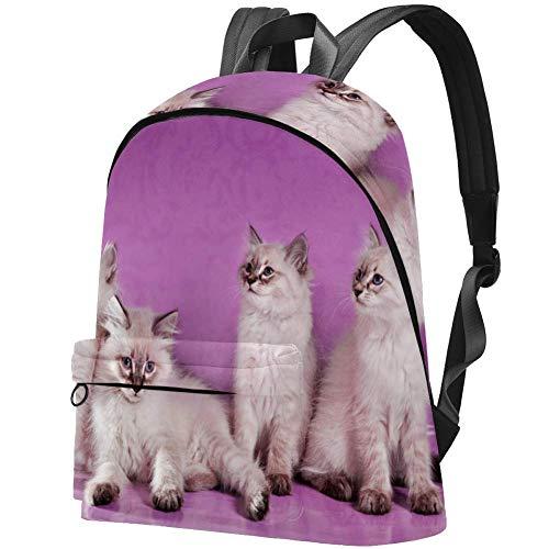 Asiatische halblange Haare Bag Teens Student Bookbag Leichte Umhängetaschen Reiserucksack Tägliche Rucksäcke