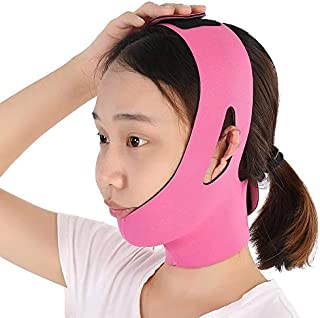 Face Slimming Strap Face Slimming Bandage Belt Face-Lift Double Chin Skin Strap Facial Firm Slimmer Device V-Line Chin Che...