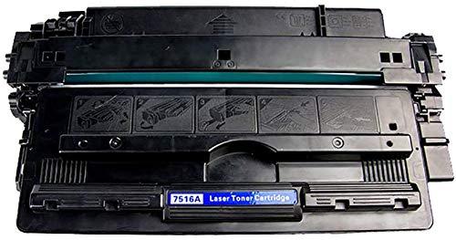 YXZQ Tonerkartusche, kompatibel mit HP 16a Tonerkartuschen für HP Laserjet 5200 / 5200n / 5200dn / 5200dtn Tonerkartusche Laserdrucker-Tonerkartuschen, schwarz