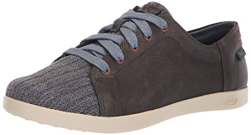 Chaco Women's Ionia Leather Lace Up Shoe, Denim, 9.5 M US