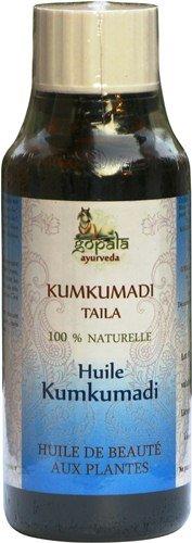 KUMKUMADI Taila Oil BIO (50ml) - Huile Traditionnelle aux plantes formulée selon les principes de l'Ayurveda