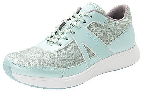 Alegria TRAQ Qarma Womens Smart Walking Shoe Mint Dew 8 M US