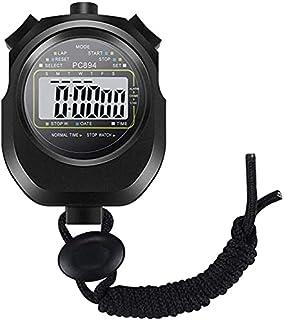 JINHAN ماء ساعة توقيت للماء الرياضة سباق الذهاب stopwatch stopwatch توقيت الرياضيات تمارين الوقت تتبع 62 × 72mm الرياضة في...