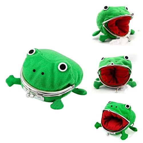 Green Frog Coin Bag – Cosplay Props Knuffel Portemonnee Verandering Pouch Portemonnee Kleine Geldzak voor Kinderen