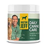 Dr. Jeff's Daily Canine Care - Vet-Formulated Powder Supplement for Dogs – with 10 Strains of Probiotics and L-Carnitine for Allergy Help, Skin & Joint Health and Digestive Support