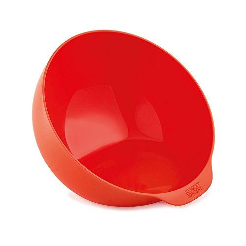Joseph Joseph Microwave Ciotola, Plastica, Rosso, Diametro 19.5 cm