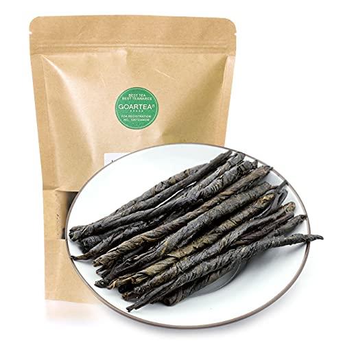 GOARTEA 250g (8.8 Oz) Premium Organic Spike Kuding Ku Ding Bitter Large-leaf Herbal Chinese Green Tea Tee