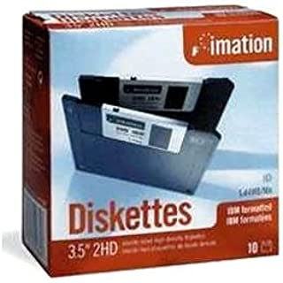 New Imation 1.44mb Floppy Disk Form Factor 3.50 Inch Mini Incomparable Quality Storage Capacity